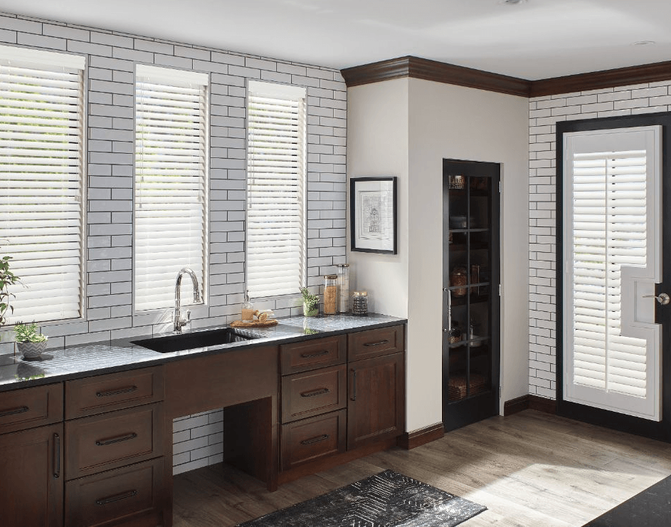 Custom Faux Wood Composite Blinds Oakville